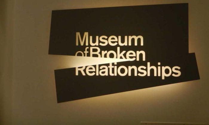 Museo de las Relaciones Rotas en Zagreb