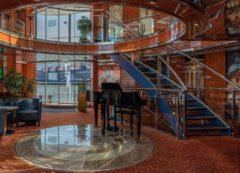 Sala de recepción en crucero fluvial por el Danubio