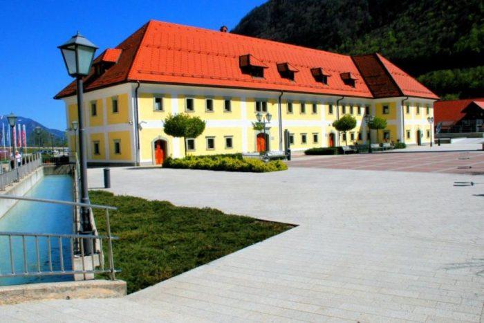 La Antigua residencia de los trabajadores de la fundición en Jesenice