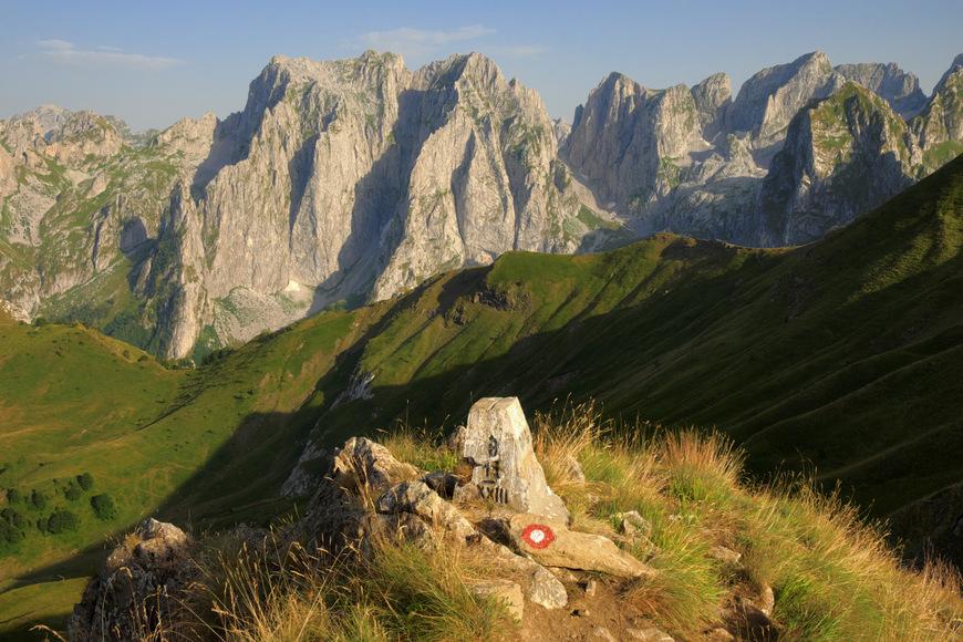 senderismo en Albania