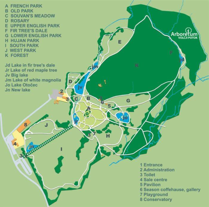 Arboretum Volcji Potok