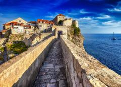 Las murallas de Dubrovnik, Croacia