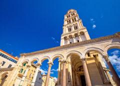 El Palacio de Diocleciano en Split, Croacia