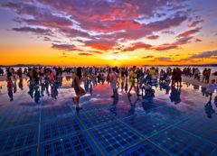 Saludo al sol en Zadar, Croacia