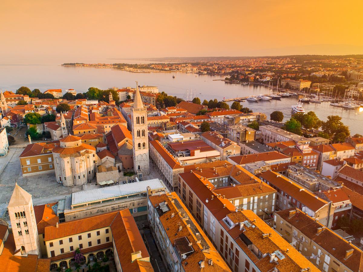 crucero islas croatas - paseo por Zadar