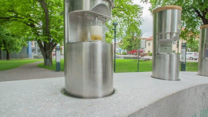 Puente pública de cerveza en Žalec
