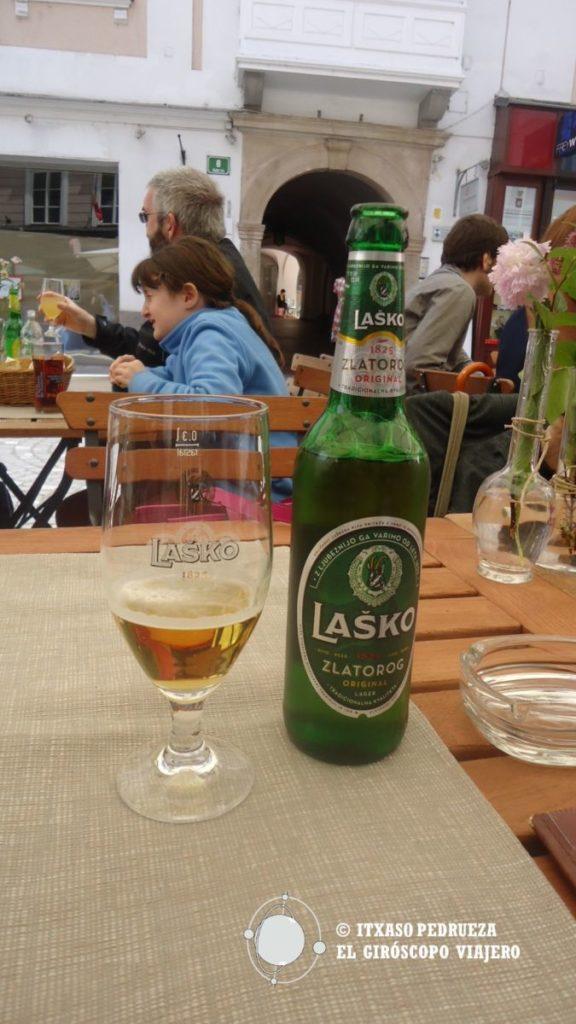 Cerveza Laško de Eslovenia