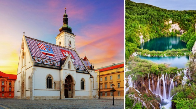 Tour por Croacia: Zagreb & Plitvice