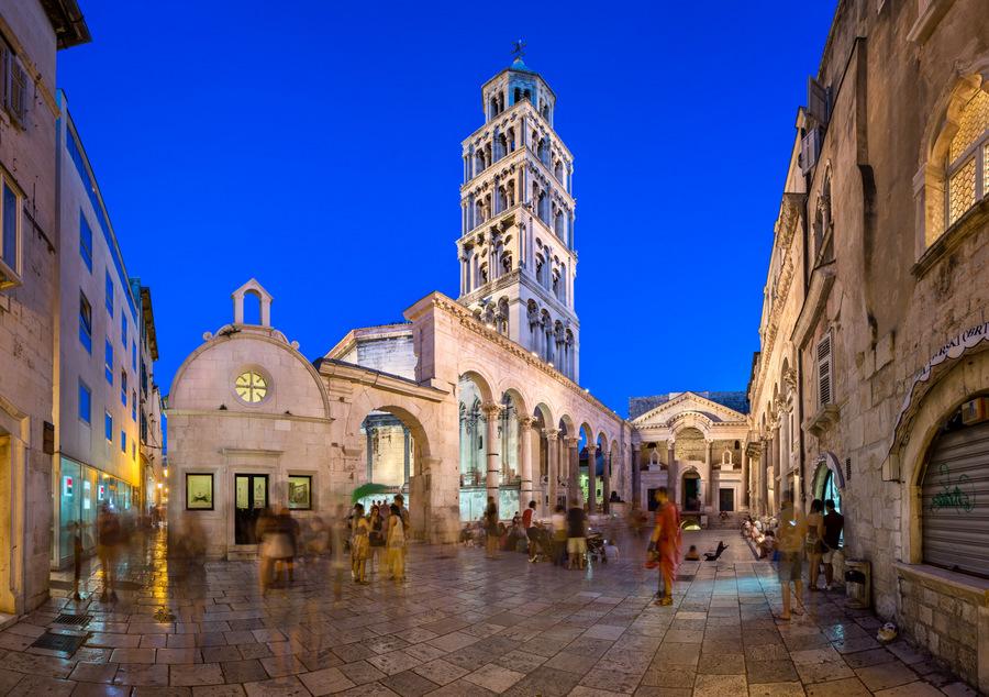 Patrimonio de la Humanidad Croacia - Palacio Diocleciano en Splt