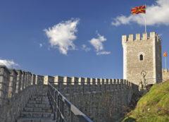 Fortaleza de Kaleen Skopie, Macedonia del Norte