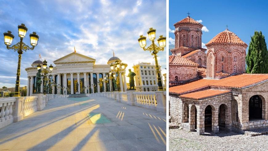 Viaje a Macedonia: Puente del Arte en Skopie & El monasterio de San Naum (Macedonia del Norte)