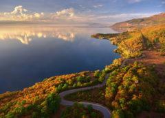 Paisajes del lago Ohrid, Macedonia del Norte