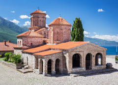 El monasterio de San Naum, Macedonia del Norte