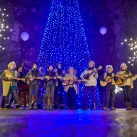viaje en navidad - Postojna cave archive, Live Christmas Crib show (2)