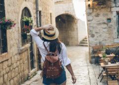 Paseo por las calles de Kotor, Montenegro