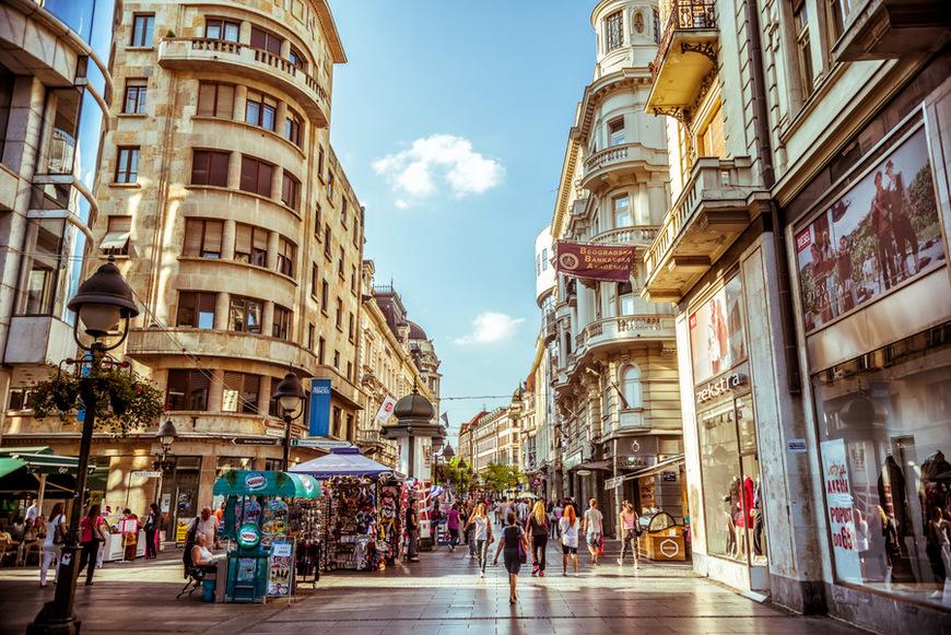 Calle Knez Mihailova, Belgrado