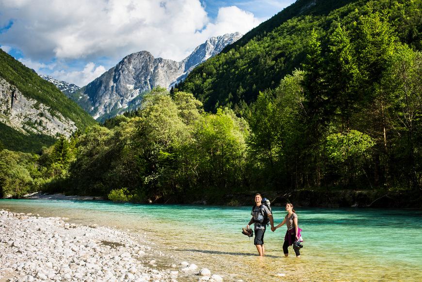 Valle del río Soča