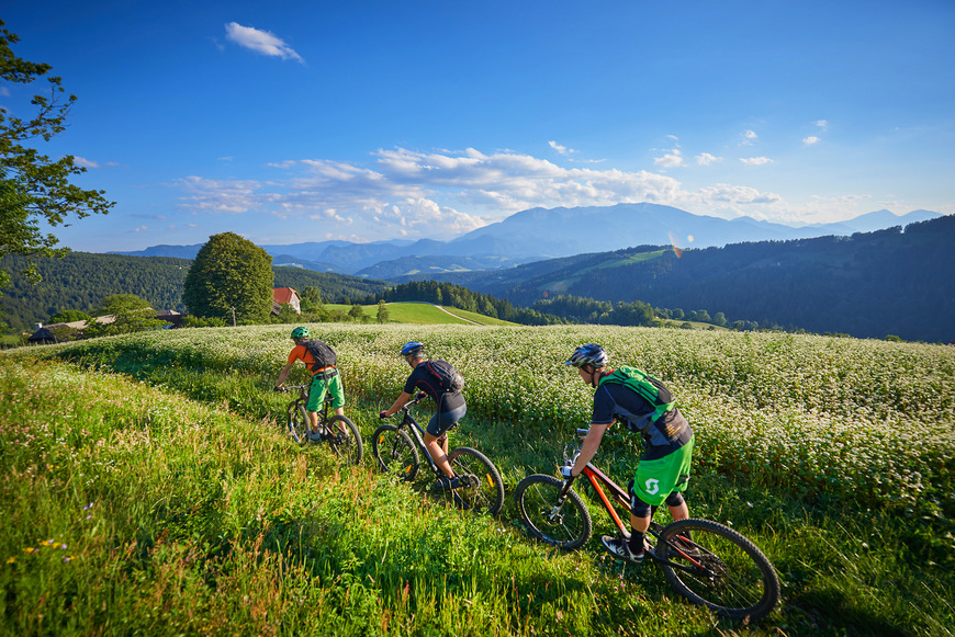 En bici por Eslovenia
