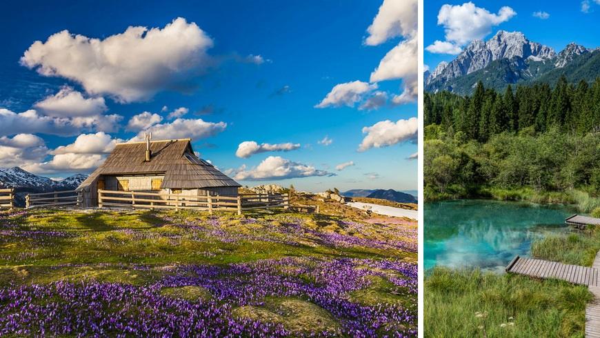 Semana Santa Eslovenia - Velika planina y Kranjska Gora