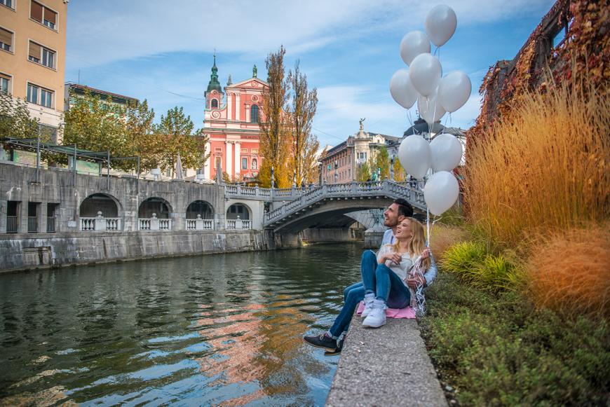 5 cosas que ver en Ljubljana: Rio Ljubljanica, Eslovenia