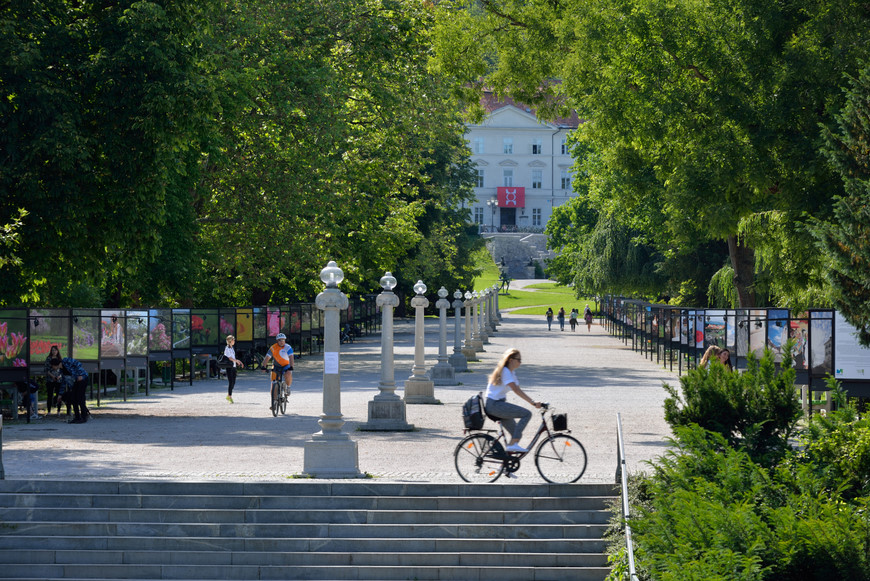 5 cosas que ver en Ljubljana: Parque Tivoli, Eslovenia