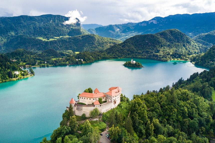 Viajes para los grupos, Lago de Bled, Eslovenia