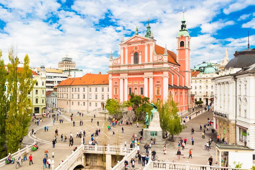 5 cosas que ver en Ljubljana: Puente triple, Eslovenia