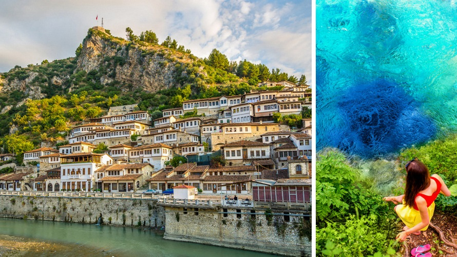 Travelling to Albania: Berat & The Blue Eye