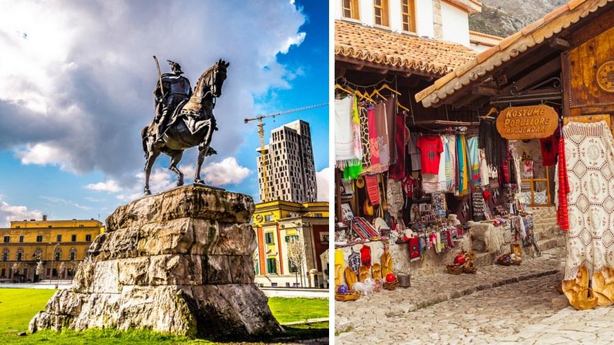 Voyage Albanie, Tirana, Kruje