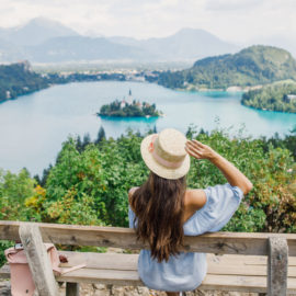 Viaje al lago de Bled, Eslovenia