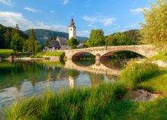 Lago de Bohinj, Eslovenia