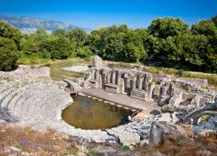 Las ruinas del Parque Nacional de Butrint, Albania