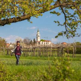 Senderismo por Eslovenia, camino del sol