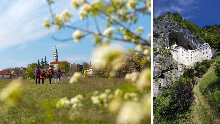 Eslovenia - senderismo por el camino del sol (Karst, Predjama)