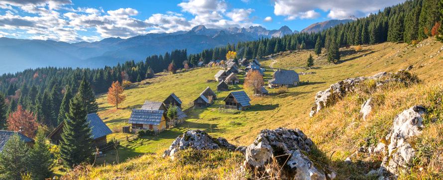 Viaje a los Alpes - Zajamniki, Eslovenia