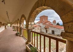 La antigua ciudad de Apollonia, Albania