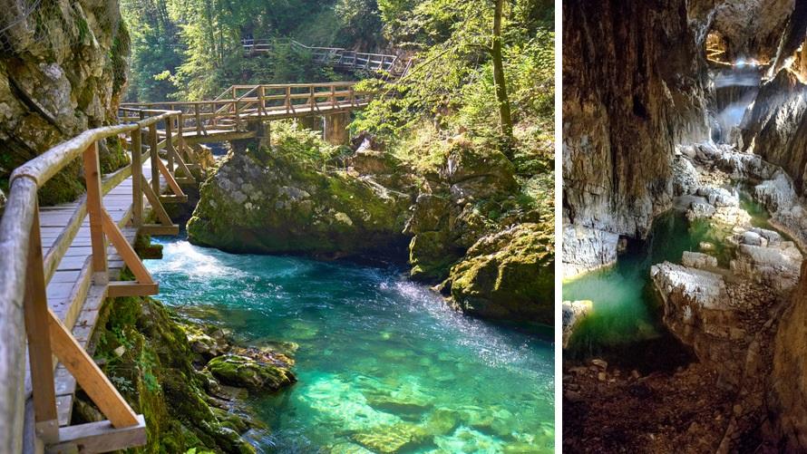 Viaje por los Alpes - Garganta Vintgar y Cueva de Skocjan, Eslovenia