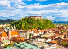 Castillo de Liubliana, Eslovenia