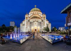 Templo de San Sava en Belgrado, Serbia