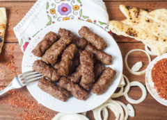 Čevapčiči, comida típica balcánica