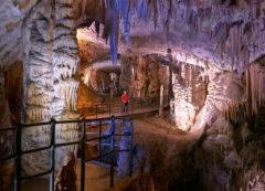 La cueva de Postojna, Eslovenia