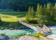 Valle de río Soča, Eslovenia