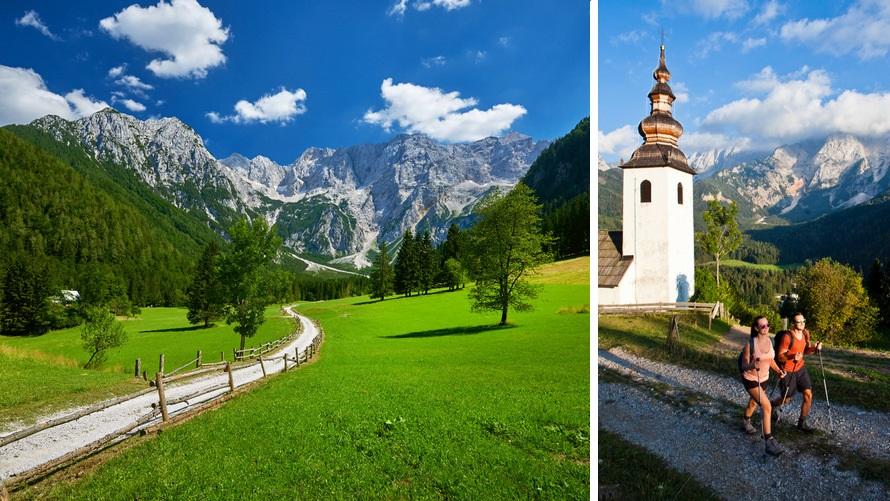 Senderismo en Jezersko, Eslovenia