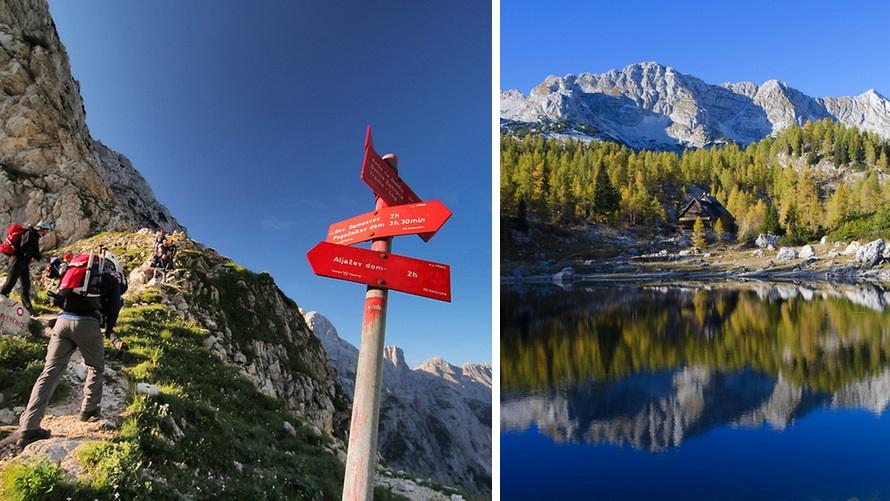 Senderismo: Alpes Julianos