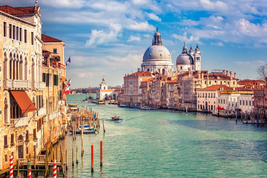 Eslovenia con Venecia para los grupos organizados