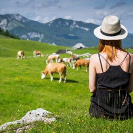 visita de Velika planina, Eslovenia