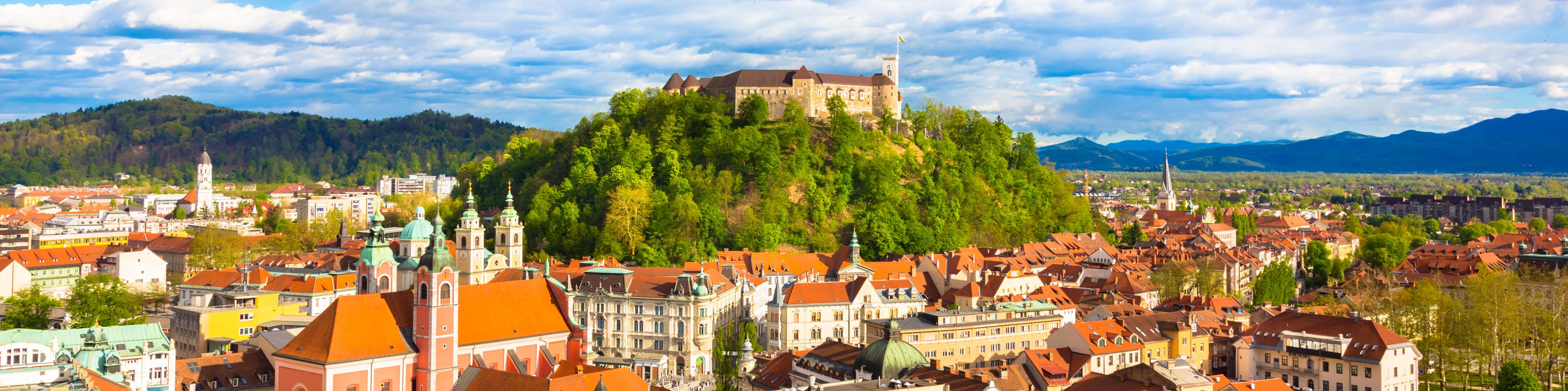 Los deportistas eslovenos de Liubliana