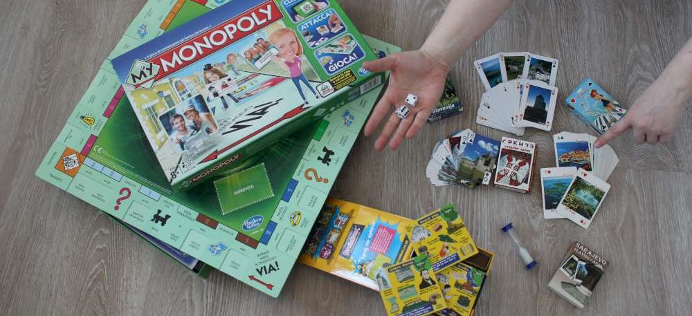 What to do at home when bored - Travel related board games