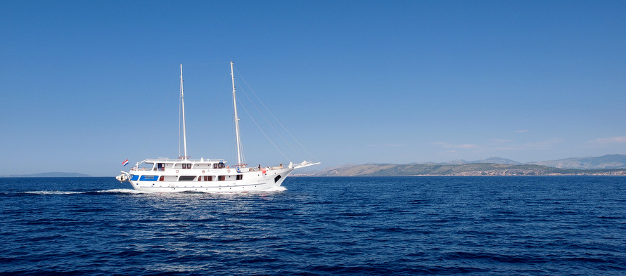 Cruise the Adriatic Sea from Split