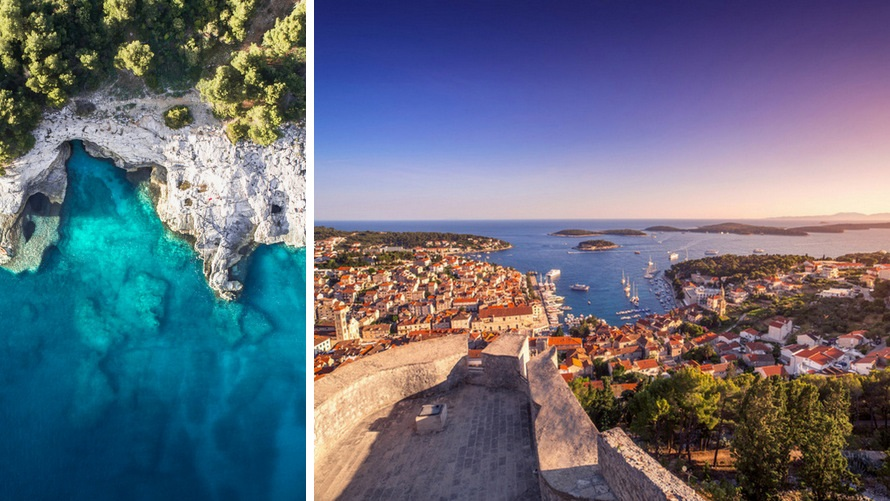 Cruise the Adriatic Sea from Split